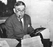 May the Most Venerable H. L. Mencken bless our unworthy but earnest attempts at tongue in cheek jocularity .
