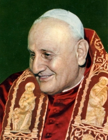 Saint John XXIII - 1959 The most influential and kindhearted Pope since Saint Peter himself.