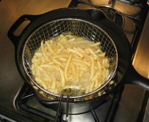 Fries_cooking