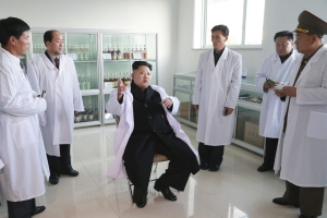 The number one fatboy of North Korea, Dr. Kim Jong Un