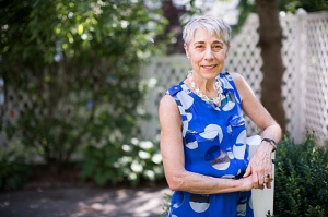 Harvard Professor of Anthropology Susan Greenhalgh is pictured in her home. Her new book