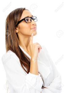 14342363-Thinking-hispanic-businesswoman-portrait-with-glasses-isolated-on-white-background-Stock-Photo