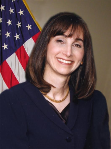 Linda Katz, M.D., M.P.H., Director of FDA's Office of Cosmetics and Colors